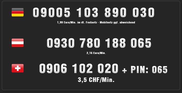Türkinnen für Telefonsex - Nummern für Deutschland, Österreich und Schweiz